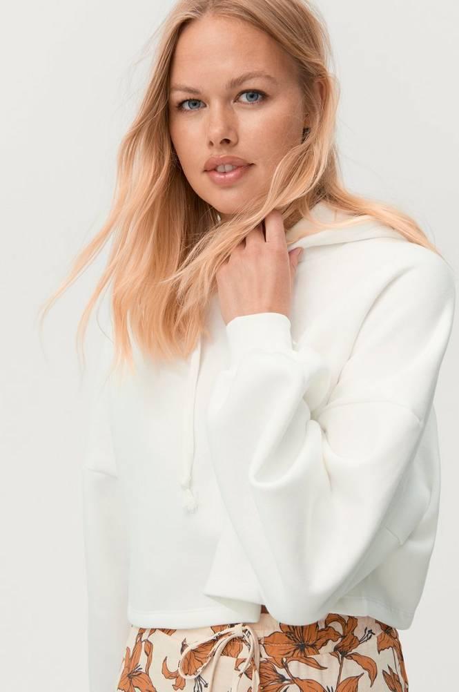 Gina Tricot Hoodie Basic Cropped Hood