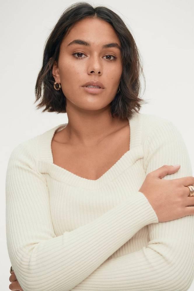 Gina Tricot Trøje Josie Knitted Sweater