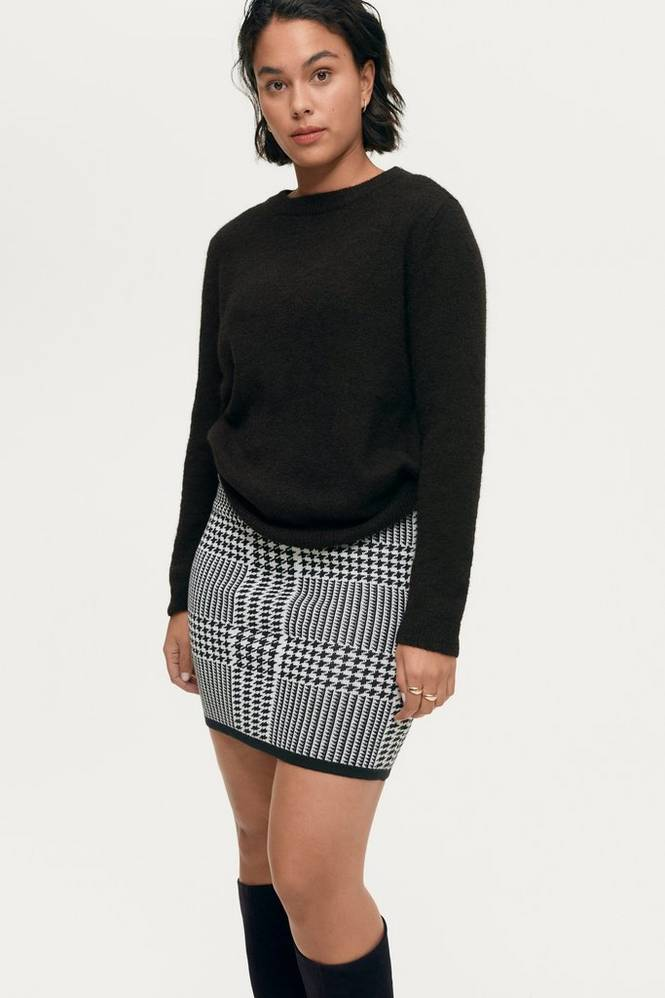 Gina Tricot Nederdel Carro Knitted Skirt