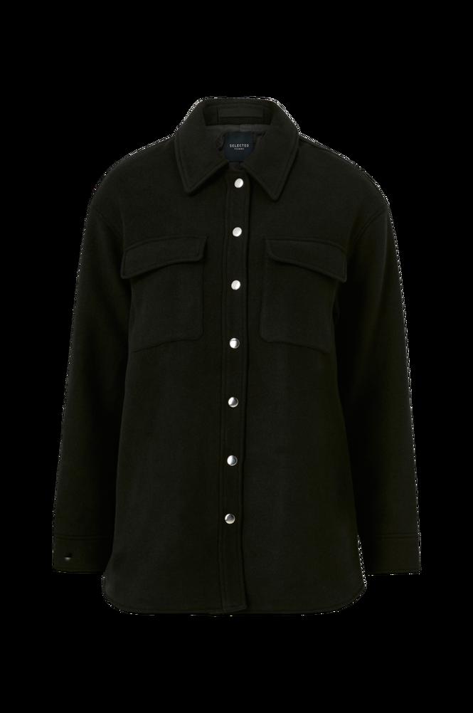 Selected Femme Jakke/skjortejakke slfTessa Wool Shirt Jacket