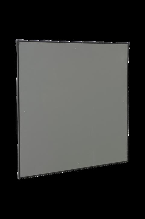 Aluminiumram med plexiglas
