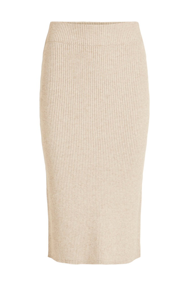 Vila Nederdel viRil Pencil HW Knit Skirt