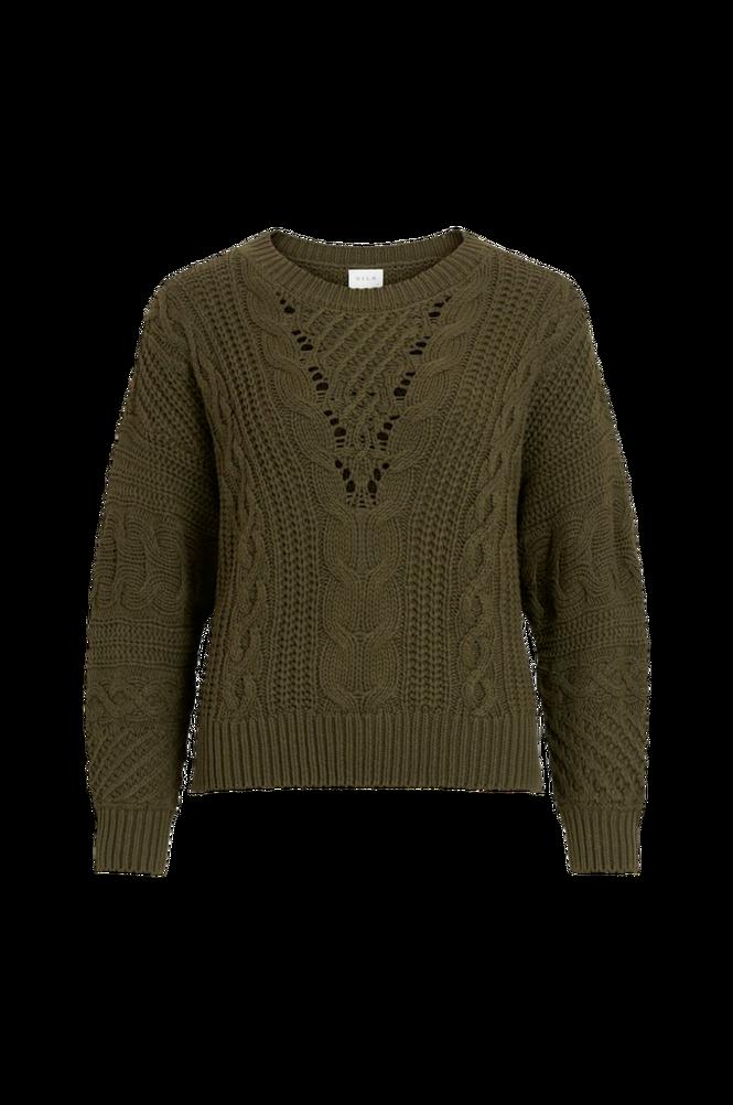 Vila Trøje viDita Knit O-neck L/S Top