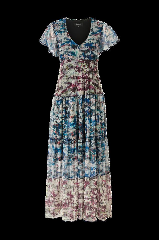Desigual Maxikjole Knit Dress Short Sleeve