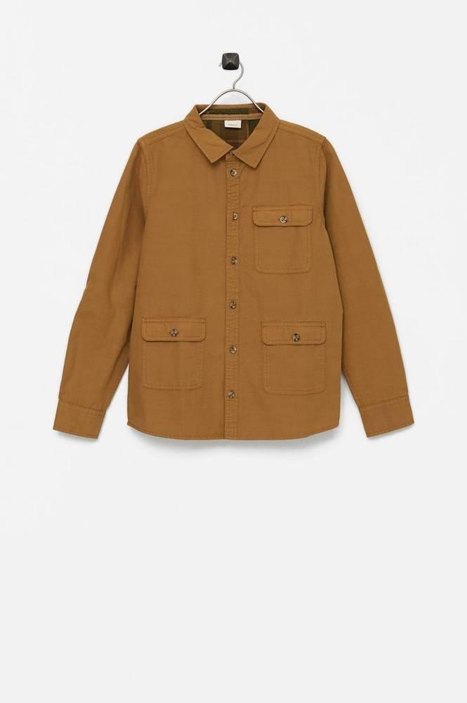 Name it Skjorte nkmLeopard LS Overshirt