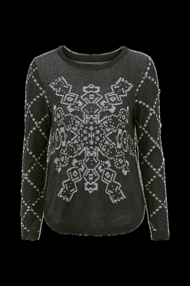 Desigual Trøje Flat Knit Thick Gaiget Pullover