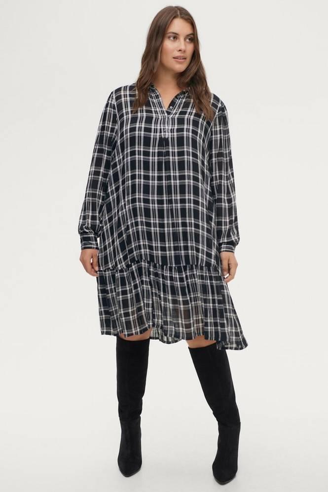 Zizzi Kjole mHardy L/S ABK Dress