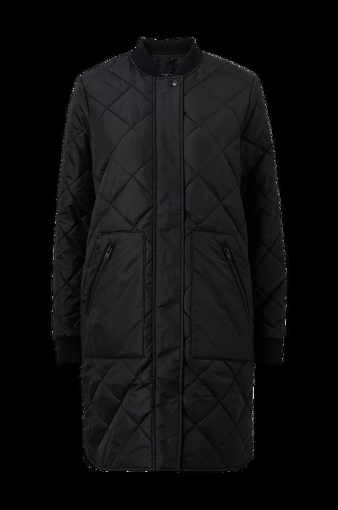 Selected Femme Frakke slfNatalia Quilted Coat B Noos