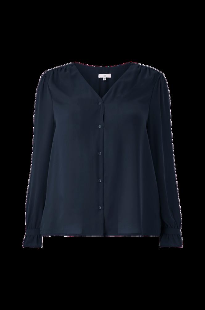 La Redoute Bluse med V-udskæring og langt ærme
