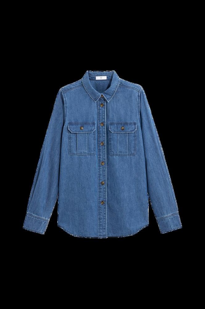 La Redoute Denimskjorte i workwear-stil