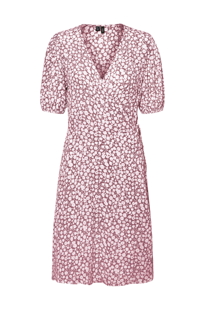 Vero Moda Slå om-kjole vmHenna Vic S/S Wrap Dress