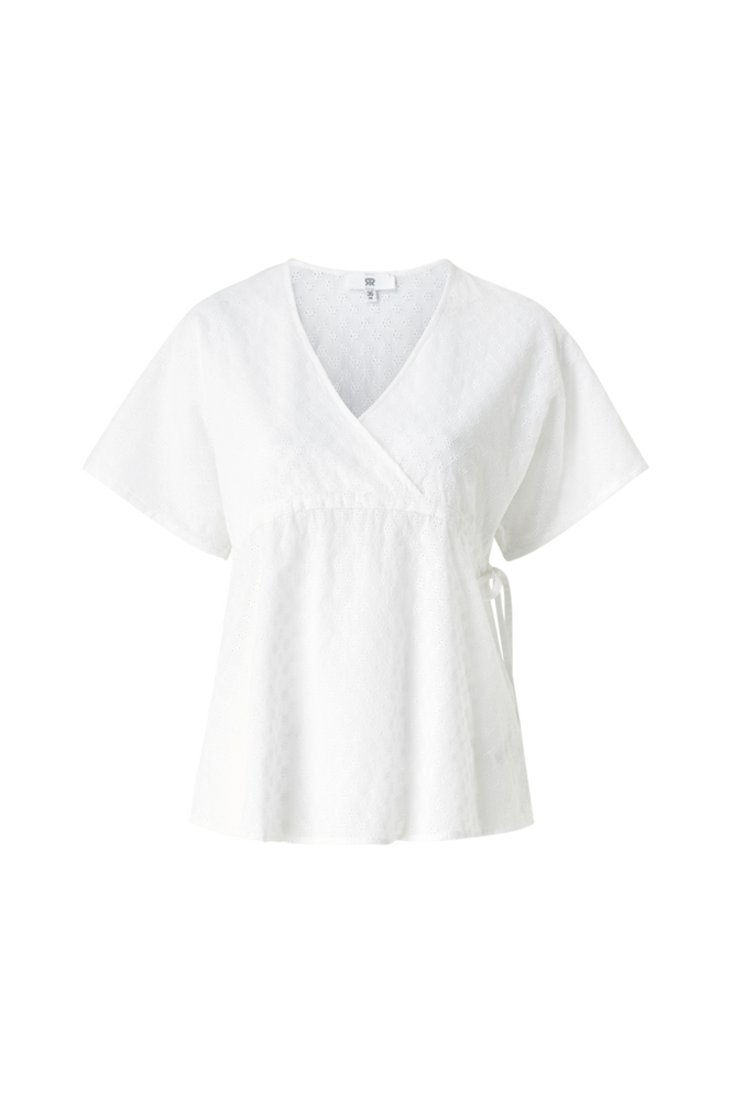 La Redoute Ventebluse med broderie anglaise