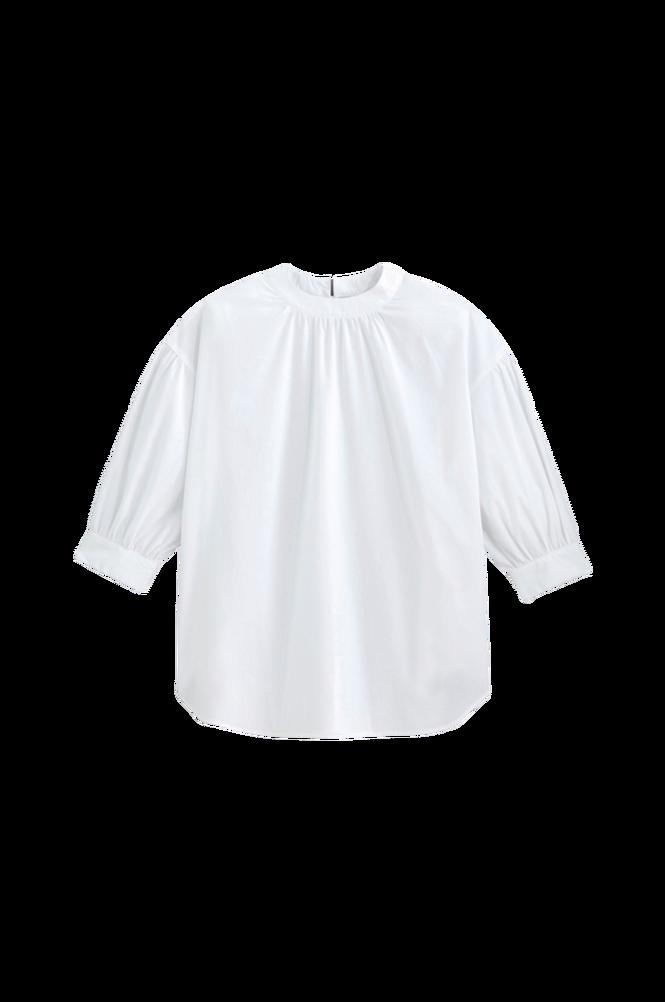La Redoute Bluse med rund hals og 3/4-langt ærme