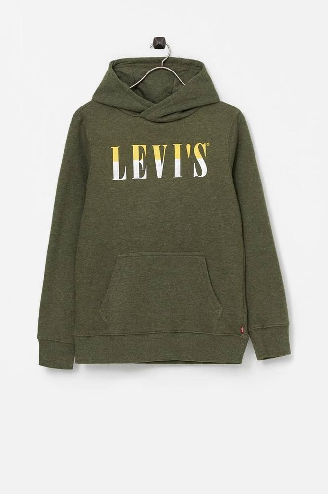 Se Levi's Hættetrøje Lvb Multicolor Logo PO Hoodie ved Ellos