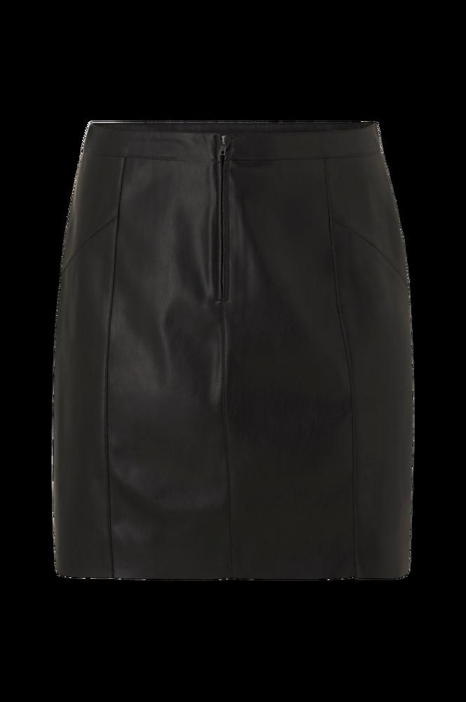 Vero Moda Curve Nederdel vmNorario Short HW Coated Skirt