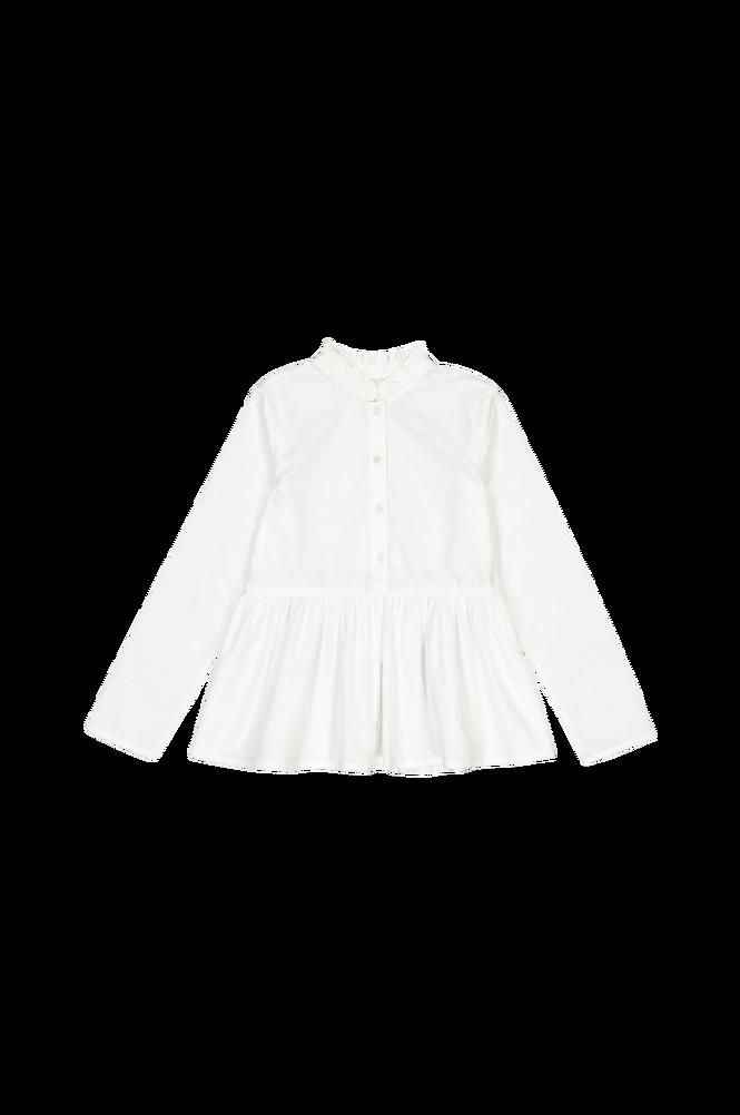 La Redoute Bluse med lille standkrave og langt ærme