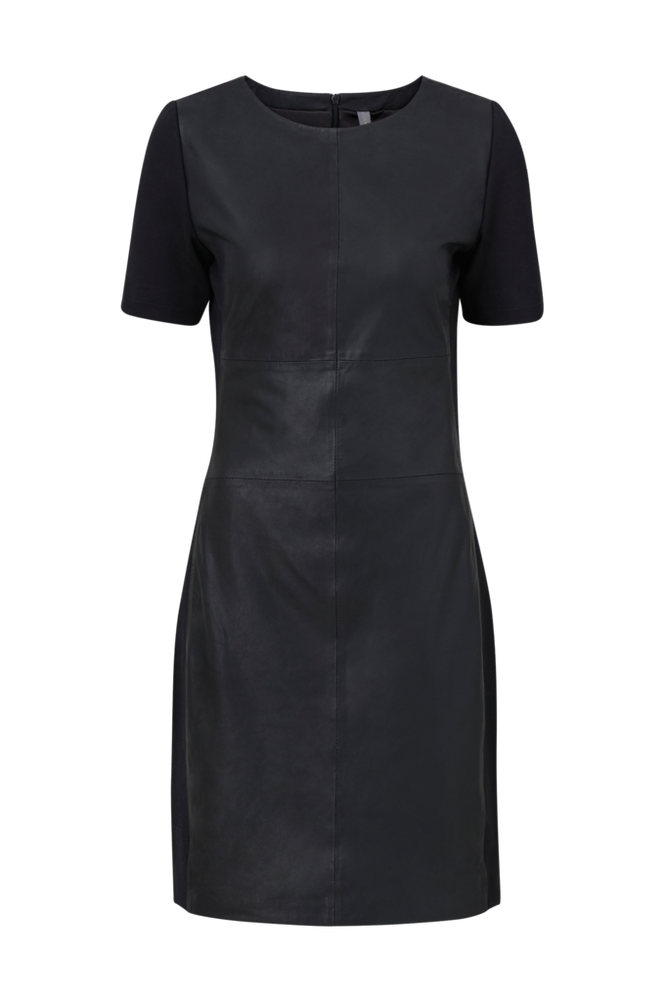 culture Skindkjole cuAlina Leather Dress