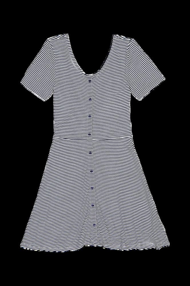 La Redoute Stribet kjole med kort ærme