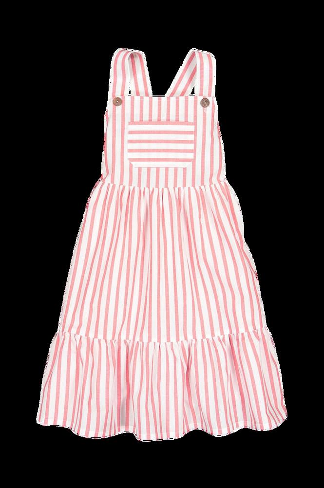 Se La Redoute Stribet kjole med seler ved Ellos