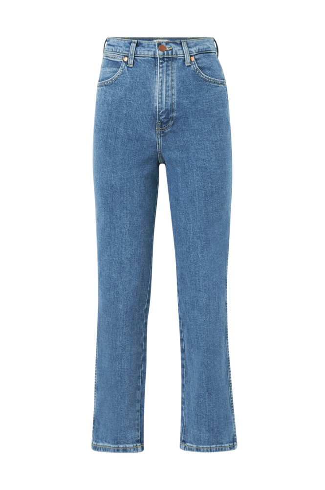 Wrangler Jeans Wild West High Rise Straight