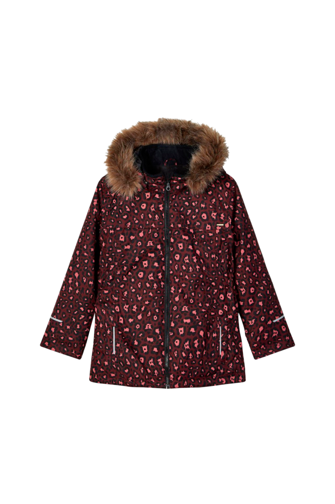 Name it Jakke nkfSnow08 Jacket Leopard FO