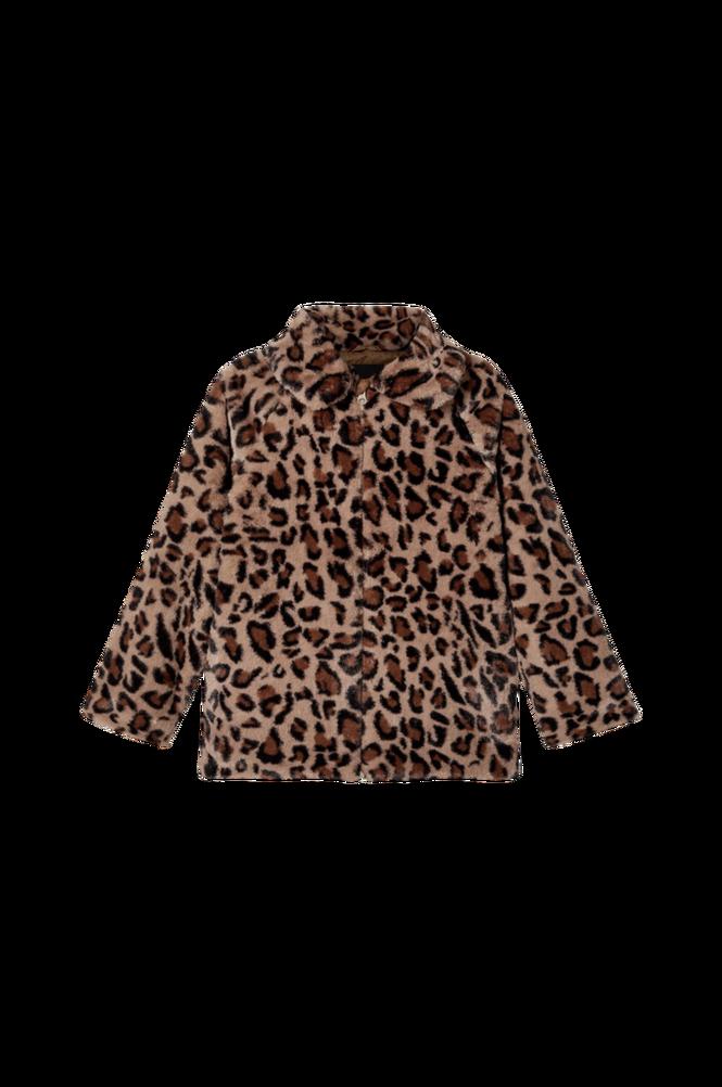 Name it Kunstpels nkfMamy Faux Fur Leo Jacket
