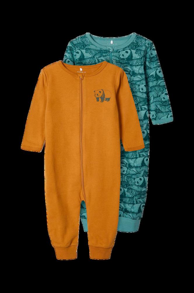 Name it Pyjamas nbmNightsuit 2p Zip Trellis Animal