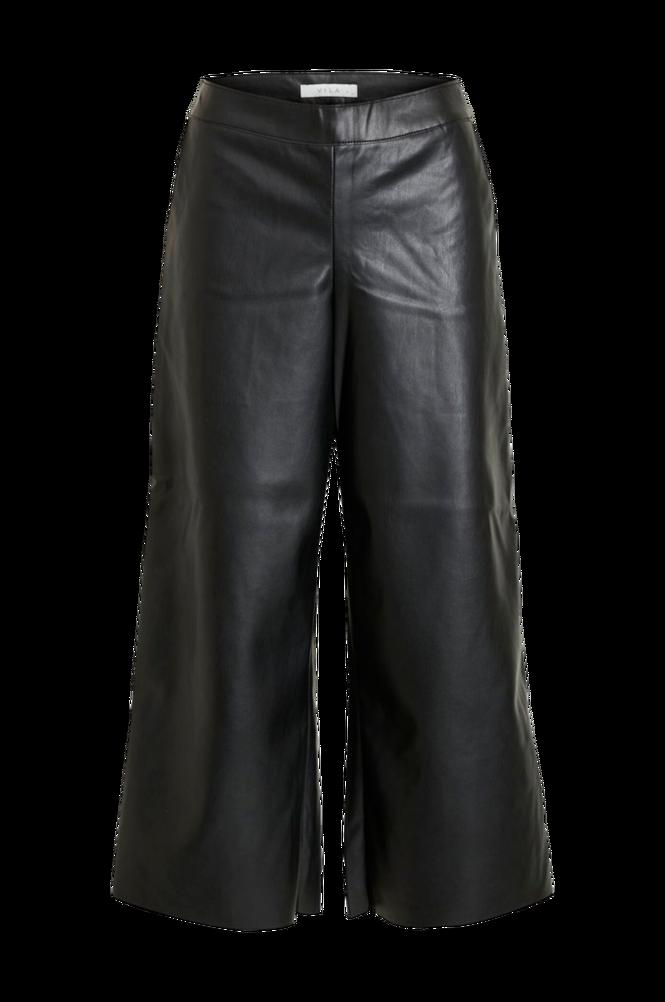 Vila Bukser viPen RWRX Cropped Coated Pants