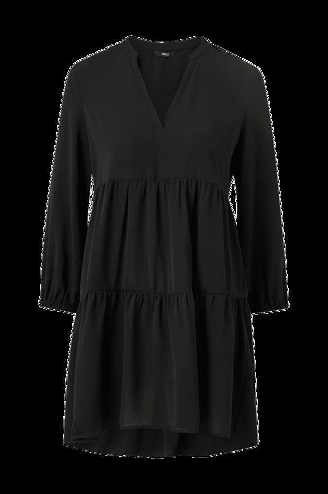 Only Kjole onlNova Lux Thea Dress Solid Wvn