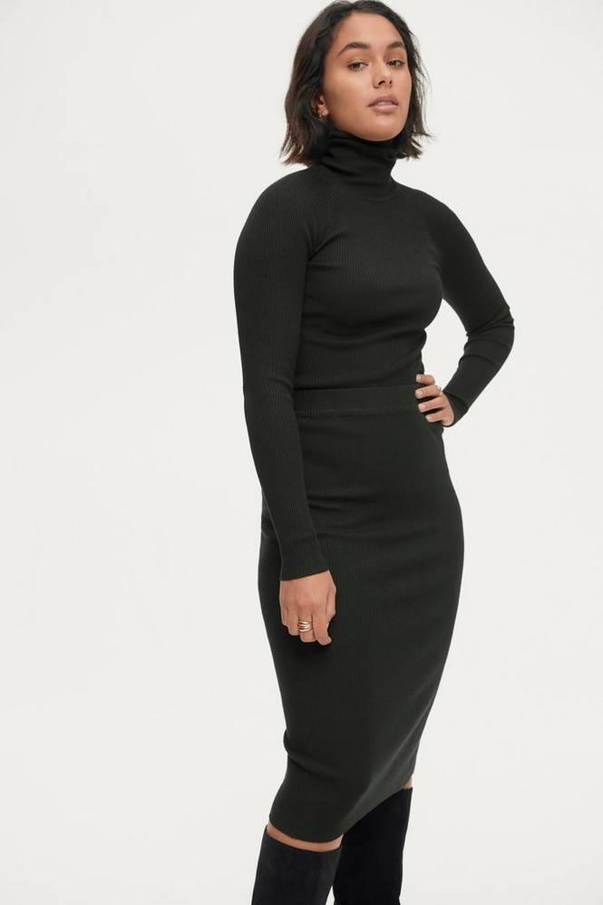 Gina Tricot Nederdel Sigrid Knitted Skirt