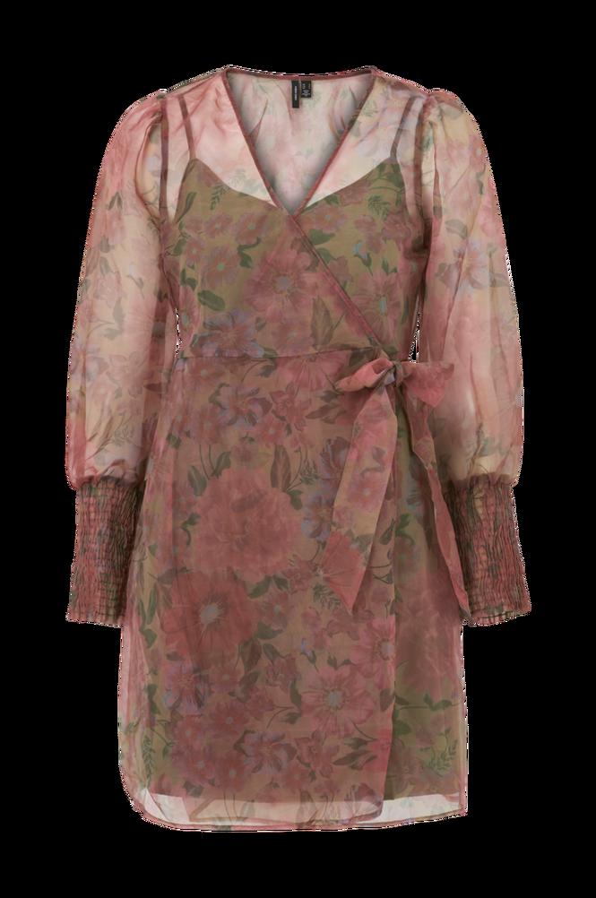 Vero Moda Slå om-kjole vmAbelia L/S Wrap Dress
