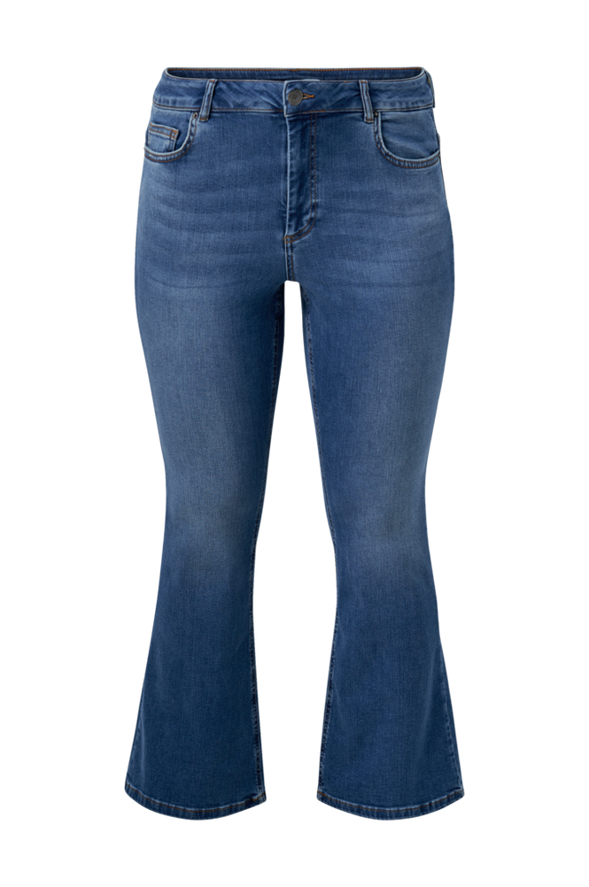 Zizzi Jeans jPosh Long Ellen Bootcut