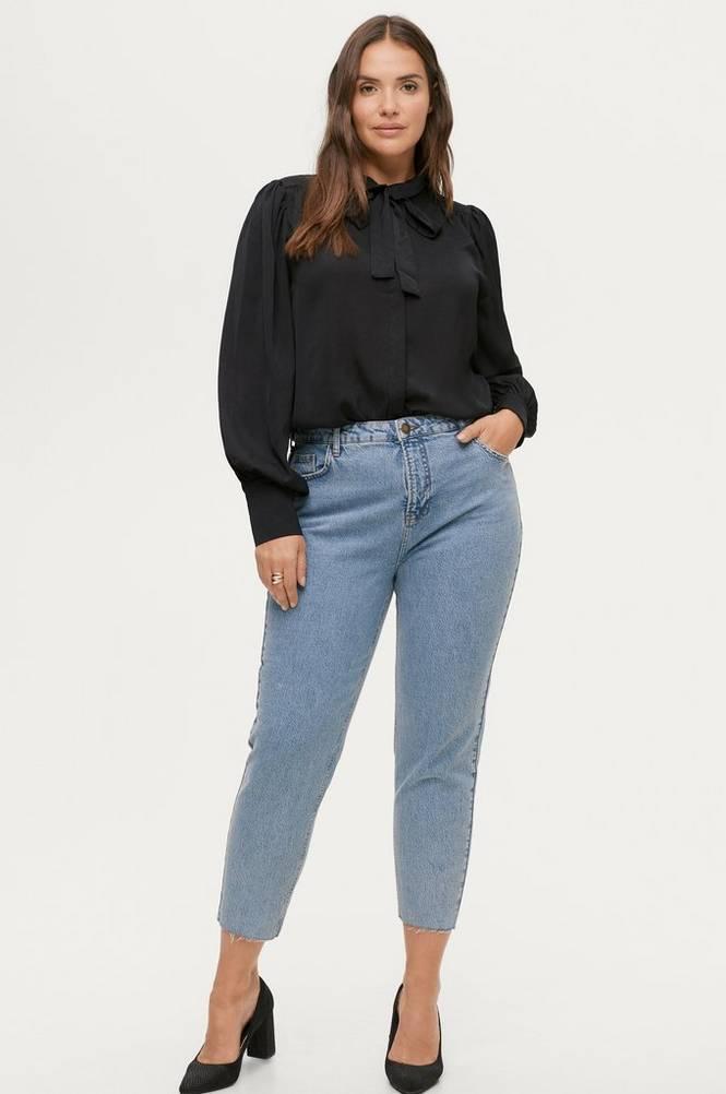 Zizzi Jeans Cropped Mom Fit