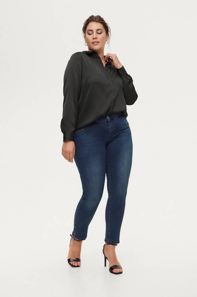 Zizzi Jeans Cropped Emily Slim