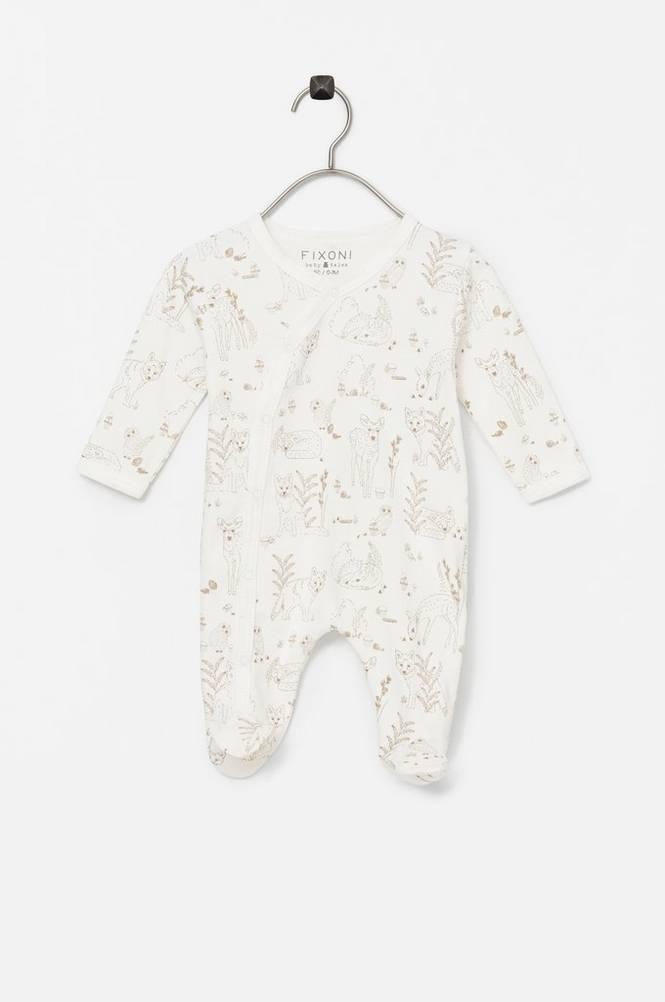 FIXONI Pyjamasdragt med hel fod