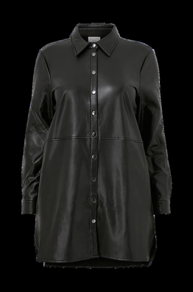 KAFFE Curve Lang skjorte kcVima Shirt