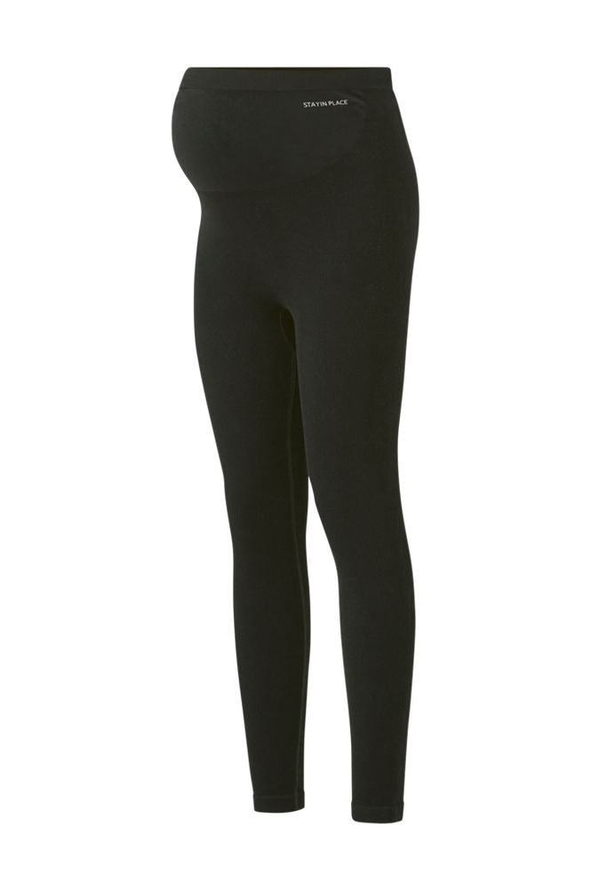 Stay in place Ventetights Ribbed Maternity Seamless Tights