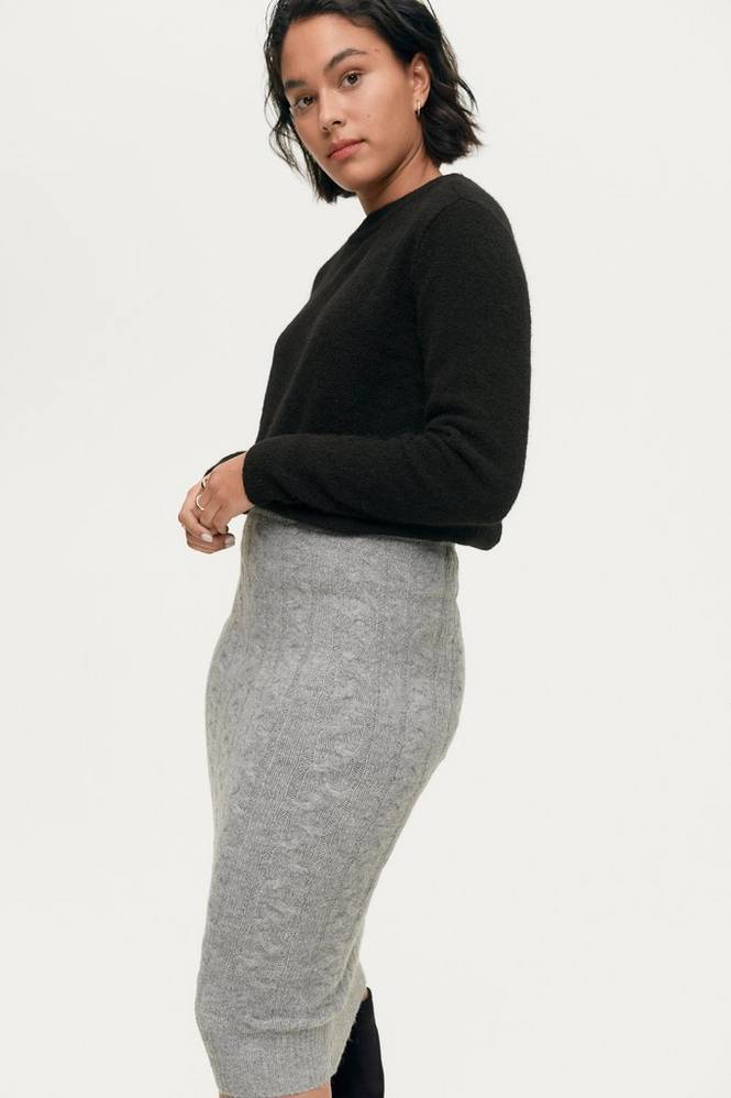Gina Tricot Nederdel Lilian Knitted Skirt
