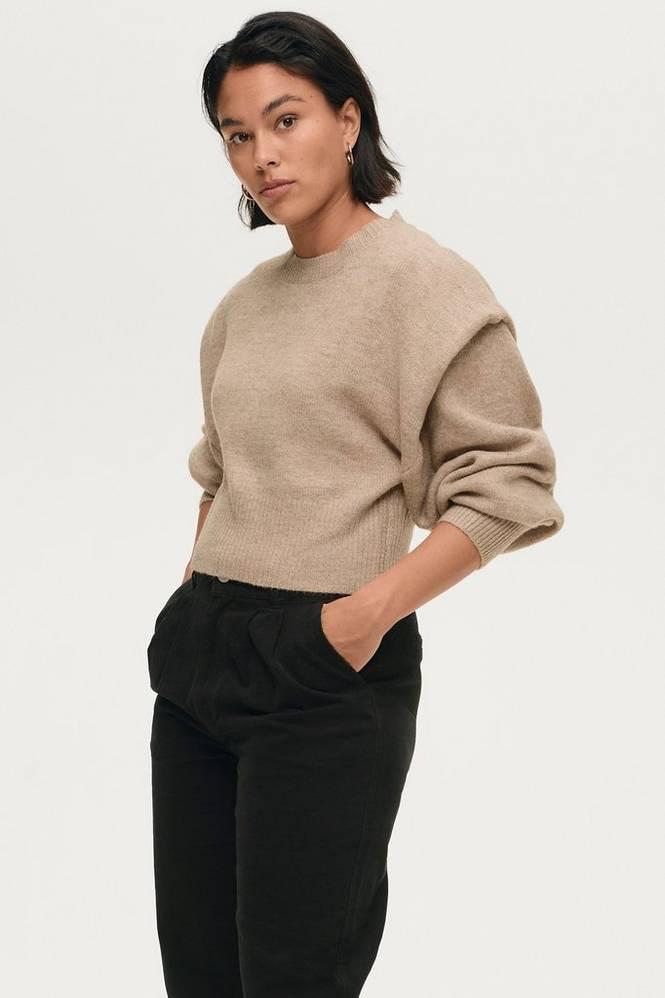 Gina Tricot Trøje Victoria Knitted Sweater