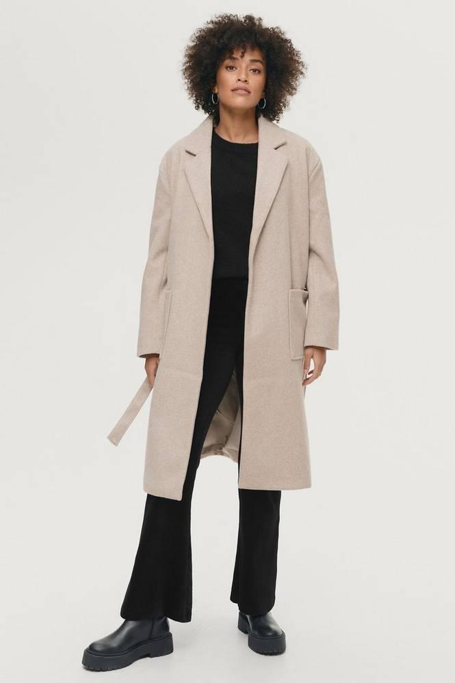 Gina Tricot Frakke Irma Belted Coat
