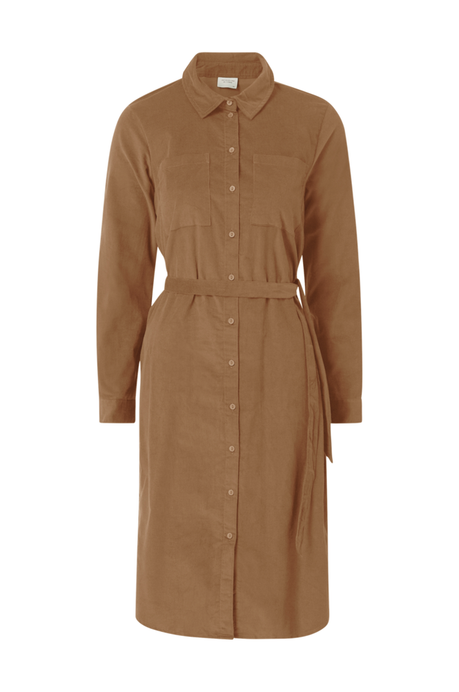 Jacqueline de Yong Skjortekjole jdyCollins L/S Corduroy Shirt Dress