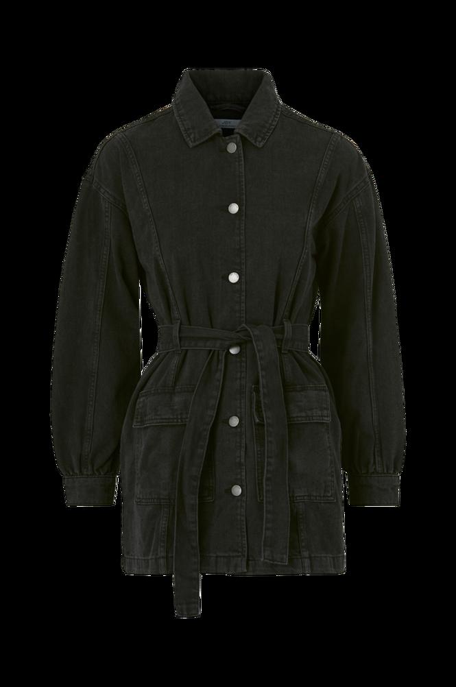 Jacqueline de Yong Denimjakke jdySansa Belted Denim Jacket