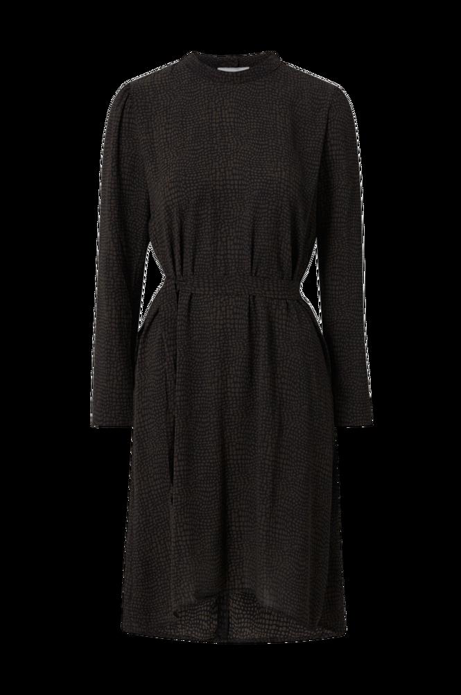 Jacqueline de Yong Kjole jdyElsa Piper L/S Belowknee Dress Wvn