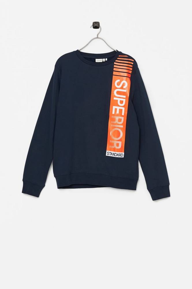 Name it Sweatshirt nkmNahom LS Sweat Bru