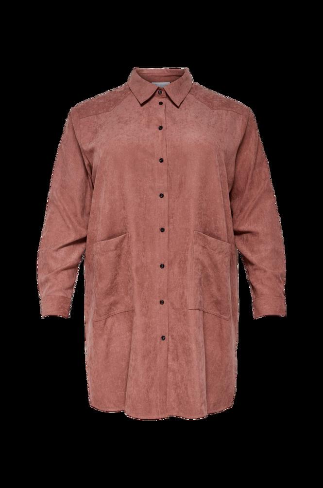Only Carmakoma Lang skjorte carEvano LS Long Shirt
