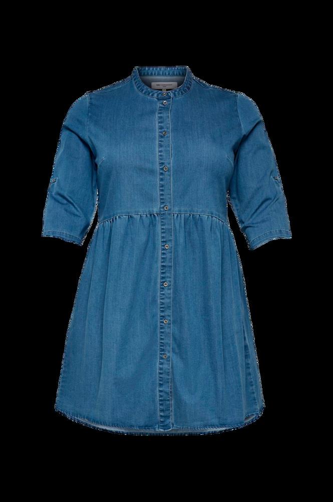 Only Carmakoma Denimkjole carChicago Life 3/4 Tunic Dress
