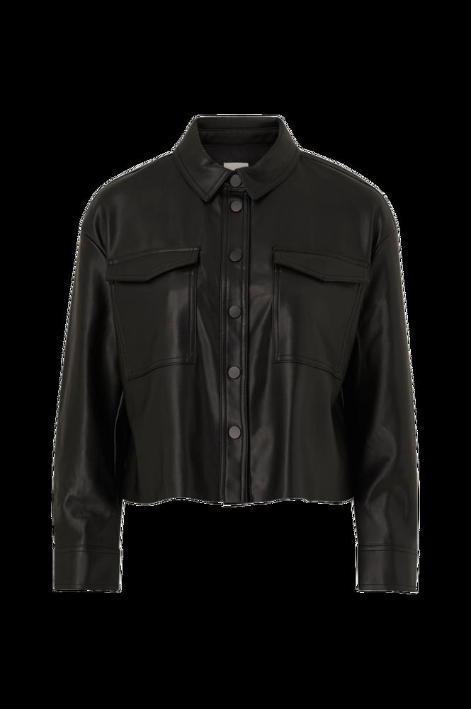 Only Jakke onlMarina Faux Leather Jacket CC Pnt