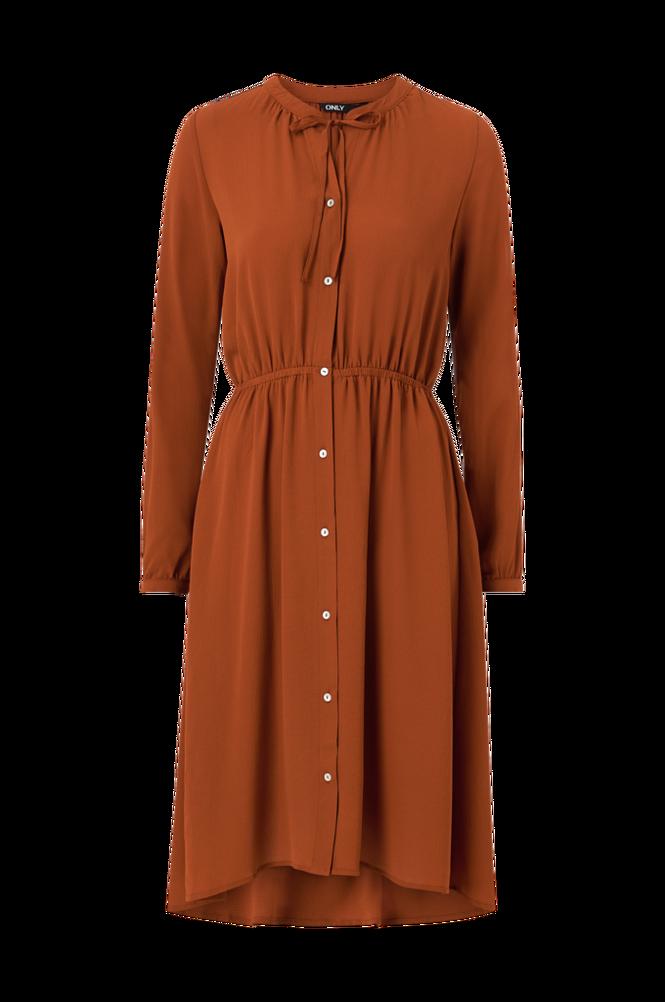 Se Only Kjole onlNova Lux L/S Miranda Dress Solid ved Ellos