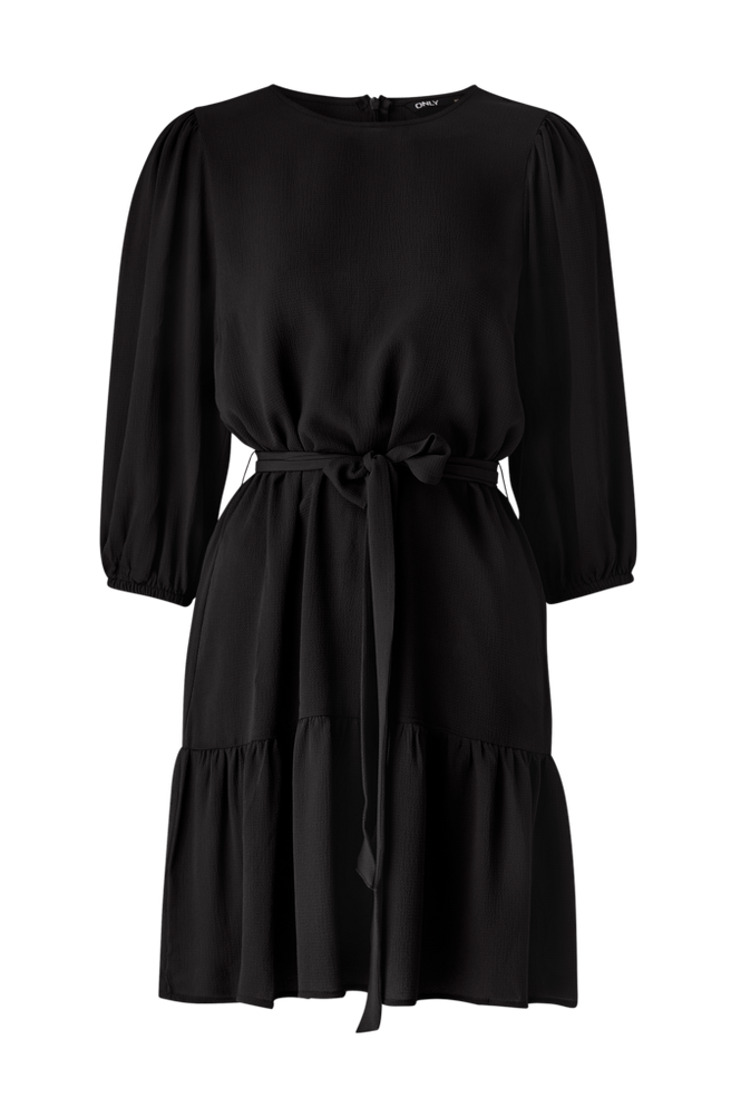 Only Kjole onlNova Lux 3/4 Puff Sleeve Dress