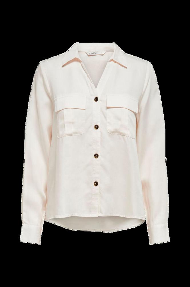 Se Only Skjorte onlKaja LS Shirt ved Ellos